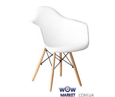 Кресло Прайз (ПЛ белый) (ольха) Domini (Домини)