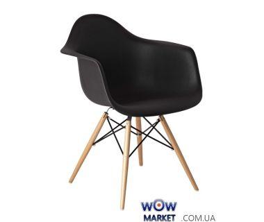 Кресло Прайз (ПЛ черный) (ольха) Domini (Домини)