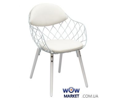 Кресло Вики (КЗ белый) белый Domini (Домини)