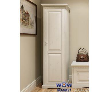 Шкаф 1-но дверный Неаполь (белый воск) Д7111-04 Domini (Домини)