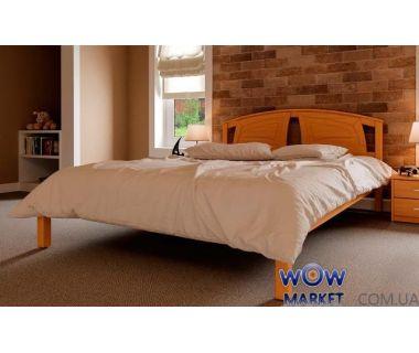 Кровать полуторная Британия 140х200 (190) см ДревКомбинат