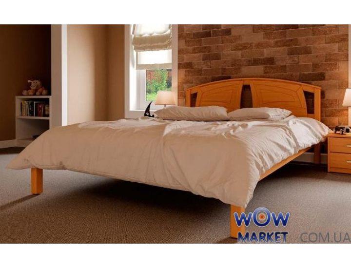 Кровать деревянная двуспальная Британия 160х200см ДревКомбинат