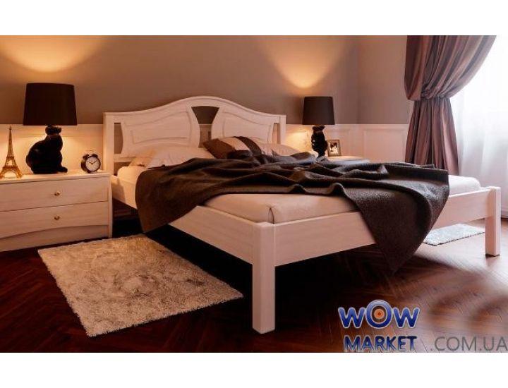 Кровать деревянная двуспальная Италия 160х200см ДревКомбинат