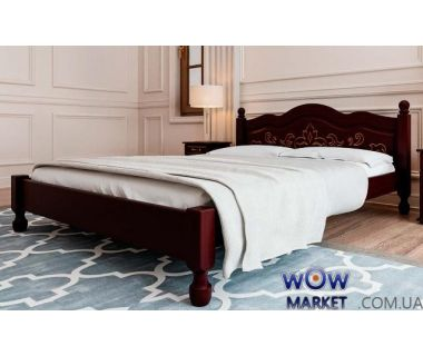 Кровать двуспальная Магнолия 180х200 (190) см ДревКомбинат