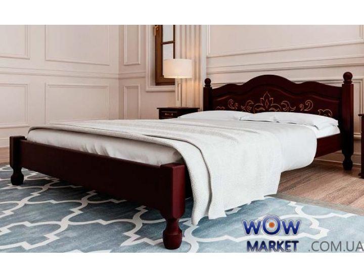 Кровать деревянная односпальная Магнолия 120х200см ДревКомбинат