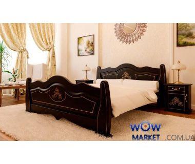 Кровать полуторная Мальва 140х200 (190) см ДревКомбинат
