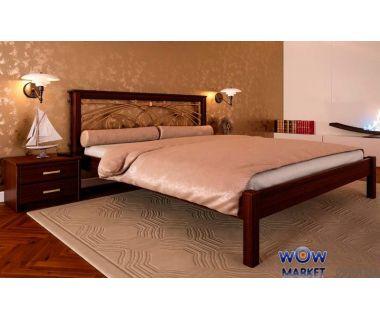 Кровать двуспальная Модерн К с ковкой 160х200 (190) см ДревКомбинат