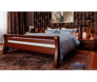Кровать полуторная Ретро 140х200 (190) см ДревКомбинат