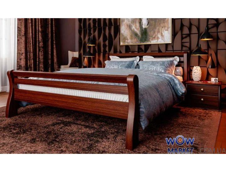 Кровать деревянная односпальная Ретро 90х200 (190) см ДревКомбинат