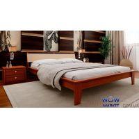 Кровать двуспальная Венеция М с мягким изголовьем 180х200см ДревКомбинат
