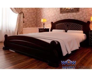 Кровать двуспальная Женева 180х200 (190) см ДревКомбинат