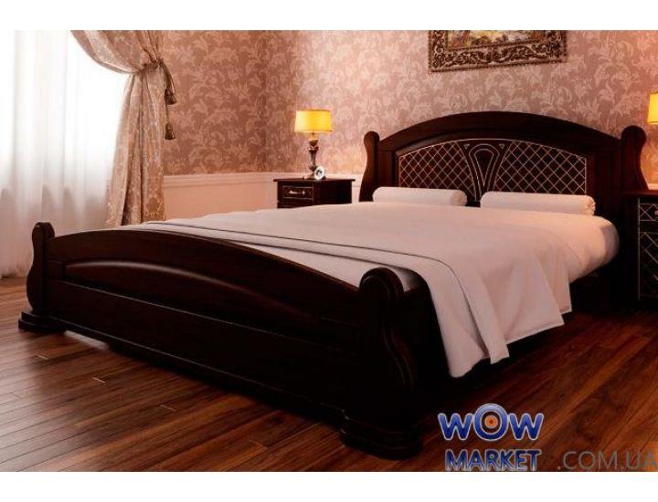 Кровать деревянная полуторная Женева 140х200см ДревКомбинат