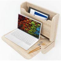 Навесной компьютерный стол-трансформер для ноутбука ZEUS AirTable Micron Escado (Эскадо)