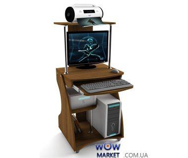 Компьютерный стол ZEUS (Зевс) Davos-2 (Орех) Escado (Эскадо)