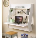 Навесной компьютерный стол ZEUS (Зевс) AirTable-III (белый)