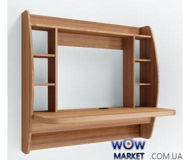 Навесной компьютерный стол Zeus (Зевс) AirTable-I LB (орех) Escado (Эскадо)
