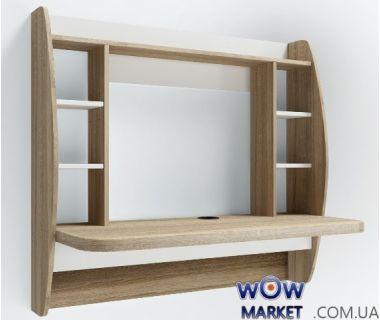 Навесной компьютерный стол ZEUS (Зевс) AirTable-I SW (санома) Escado (Эскадо)