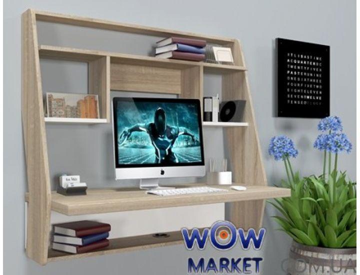 Навесной компьютерный стол ZEUS (Зевс) AirTable-III SW (санома)