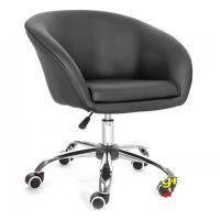 Кресло Мурат черный (на роликах) SDM (Групо СДМ)