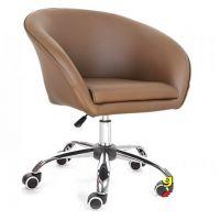 Кресло Мурат коричневый (на роликах) SDM (Групо СДМ)