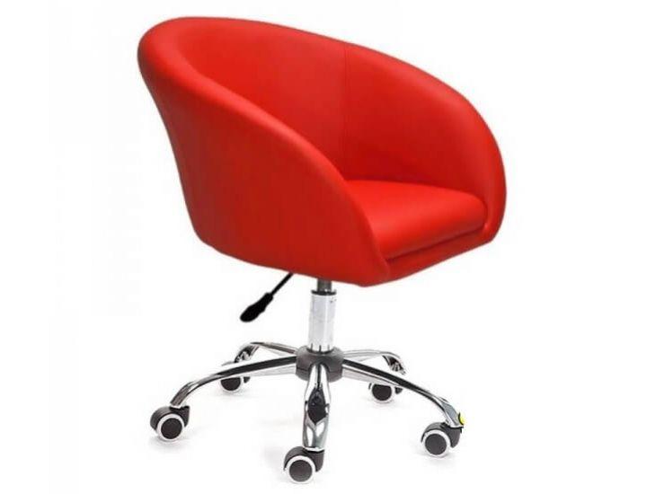 Кресло Мурат красный (на роликах) SDM (Групо СДМ)