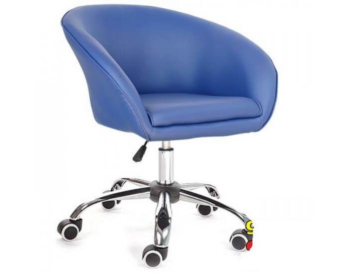 Кресло Мурат синий (на роликах) SDM (Групо СДМ)