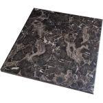 Столешница GSDM для стола WERZALIT квадратная 70*70 см, черный мрамор