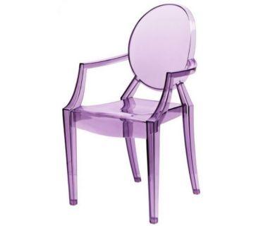 Стул Louis Ghost (Луи Гост) фиолетовый