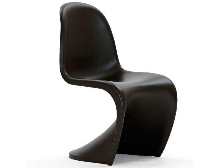Дизайнерский стул Panton (Пантон) черный