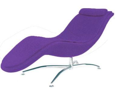 Шезлонг Rocking (Рокинг) фиолетовый