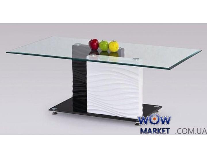 Журнальный столик Shanell (Шанель) черно-белый Halmar (Халмар) Польша
