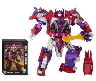 Робот Трансформер Возвращение Титанов Соверин и Альфа Трион (Transformers Generations Titans Return Autobot Sovereign and Alpha Trion) (B8352EU4)