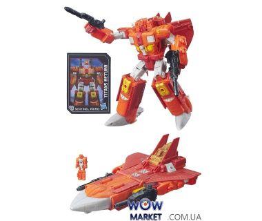 Робот Трансформер Дженерейшенс Возвращение Титанов Вояжер Инфинитус и Сэнтинел Прайм (Transformers Generations Titans Return Autobot Infinitus and Sentinel Prime)
