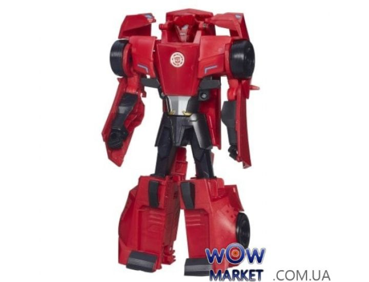 Трансформеры Роботс-ин-Дисгайс Гиперчэндж (Transformers Robots in Disguise 3-Step Changers Sideswipe)