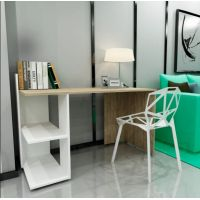 Письменный стол IDEA Evrika (Эврика) дуб античный, белый
