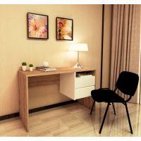 Письменный стол IDEA Mark (Марк) дуб античный, белый