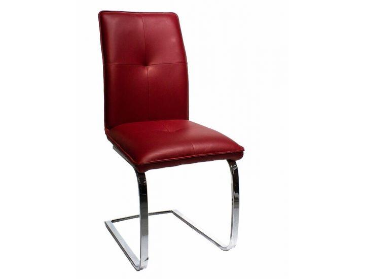 Дизайнерский мягкий стул Maya (Майя) бордовый