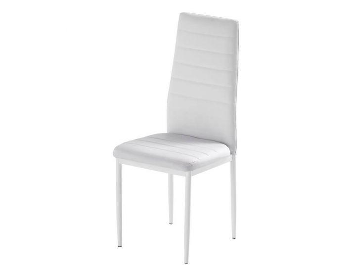 Дизайнерский мягкий стул Roger (Роджер) белый