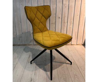 Стул Sirena (Сирена) желтый ткань Impulse mebel
