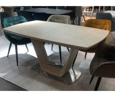 Стол раскладной Asti 2 (Асти 2) бежевый, керамика