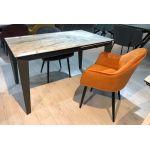 Стол раскладной Bond (Бонд) серый мрамор, керамика