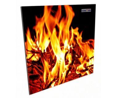 Керамический обогреватель КАМ-ИН Easy heat с рисунком 475C