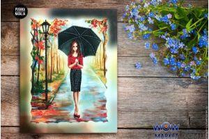 Немного о картинах молодой знаменитой Киевской художници Натальи Пушке