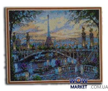 Картина стразами Париж от Пушки Натальи