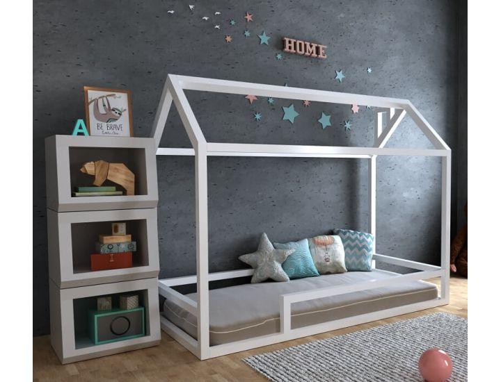 Детская деревянная кровать домик Анетти плюс