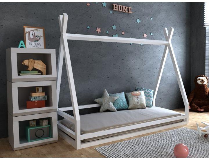 Детская деревянная кровать домик Моана