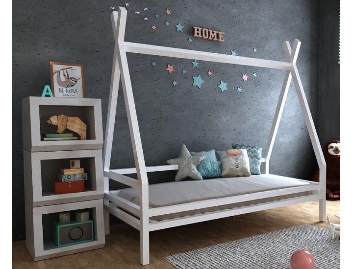Детская деревянная кровать домик Моана плюс