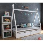 Детская кровать домик Моана плюс с ящиками