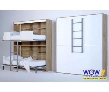 Шкаф кровать двухъярусная ШКГ-2