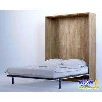 Шкаф кровать трансформер двуспальная ШКВ-2